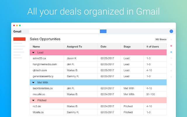 Streak CRM for Gmail - Chrome Web Store