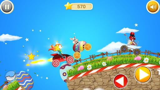 Easter Bunny Racing For Kids apkmind screenshots 2