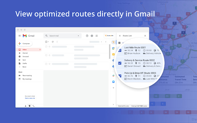 Route4Me Route Planner for Gmail