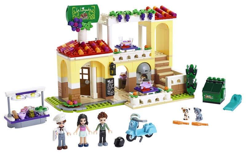 Contenido de Lego® 41379 Restaurante de Heartlake City