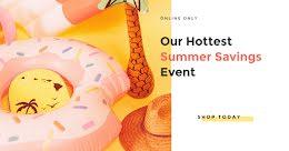Summer Savings Event - Facebook Event Cover item