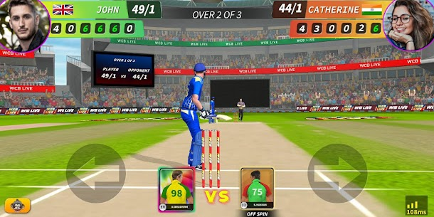 WCB LIVE Cricket Multiplayer: PvP Cricket Clash 2