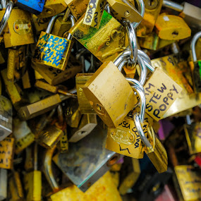 We're Locked In by Ronald Rivas - Novices Only Objects & Still Life ( love, paris, france, romance )