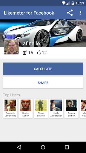 Likemeter for Facebook