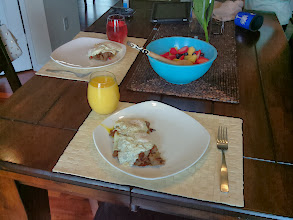 Photo: steak and eggs breakfast, I am lucky to have someone that loves food as much as me
