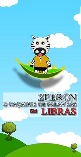 ZEBRON - O Cau00e7ador de Palavras em Libras  captures d'u00e9cran 1