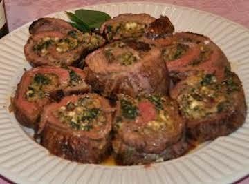 Stuffed Flank Steak - Flank Steak Recipe