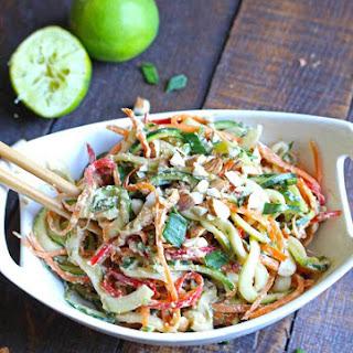 Almond Asian Lime Salad.