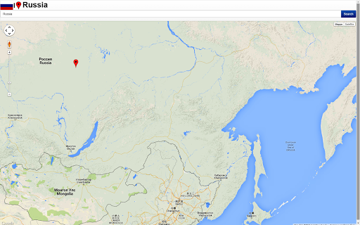 Chelyabinsk map