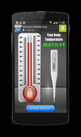 android Finger Body Temperature Prank Screenshot 3