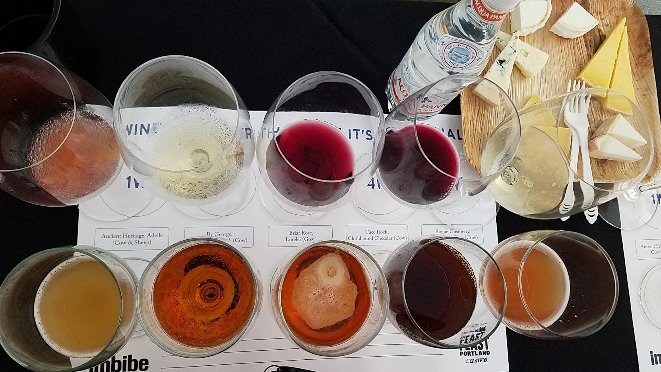 Feast Portland - Drink Tank 2016: Wine Vs Beer Pairing with Cheese
