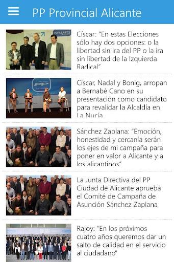 PP Provincial Alicante