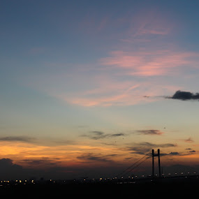 Kolkata Evenings by Koyel Ghosh - City,  Street & Park  Skylines