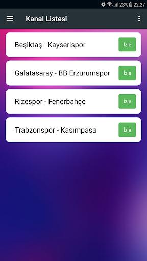 Simple Tv Canlı Maç 1.6 screenshots 1