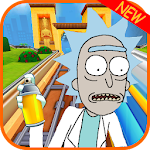 Subway Rick and Morty Temple Rush