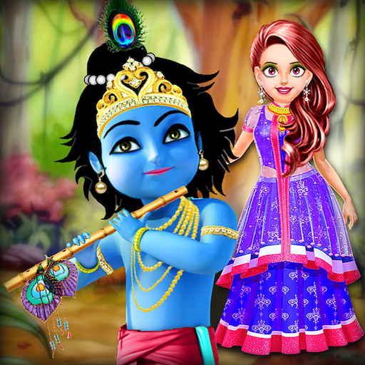 Baby Gopi Fashion Doll - Krishna Dressup Salon