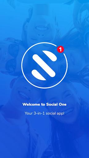Social One - Facebook, Instagram & Twitter 3.0.1_0_release screenshots 1