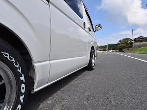 ハイエースバン TRH200V SUPER GL 2018年式のカスタム事例画像 k.i.j@黒バンパー愛好会さんの2018年09月21日07:45の投稿