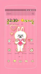Pink Love Rabbit screenshot 0