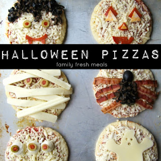 Fun Halloween Pizza Ideas