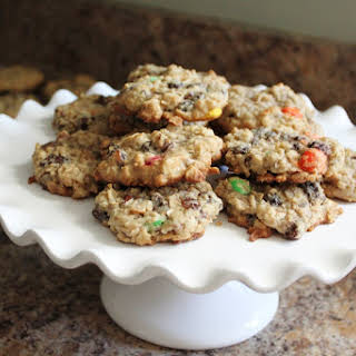 Trail Mix Cookies - A Healthy After-School Snack.