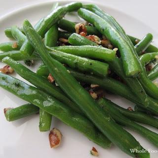 Lemon-Pecan Green Beans