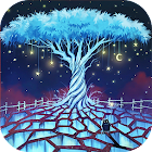 Star home : Glowing magic land Live wallpaper icon