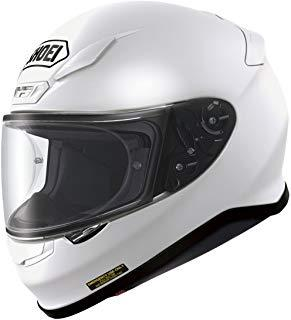 Shoei NXR Plain White White M