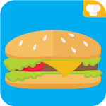 Burger Recipes Fastfood Icon