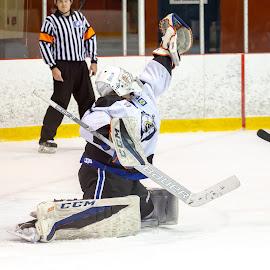 Sky save ! by Yves Sansoucy - Sports & Fitness Ice hockey