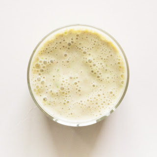 Pear and Cinnamon Smoothie.