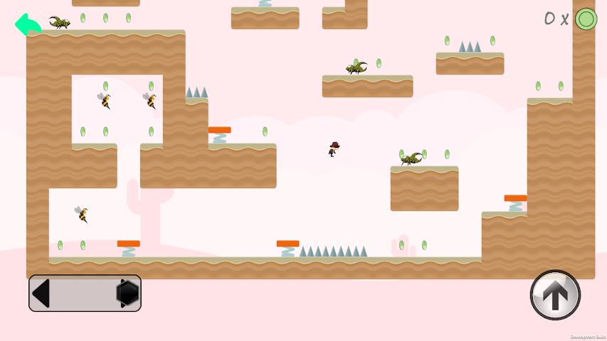 android Super Adventure World Screenshot 1