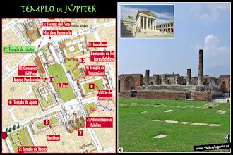 Photo: 16: En su interior, había una estatua de Júpiter, del 80 a.C. aprox., cuya cabeza ha llegado hasta nuestros días. Luego se transformó en Capitolium y fue consagrado al culto de la denominada 'Trinidad Capitolina', esto es, Júpiter, Juno y Minerva.