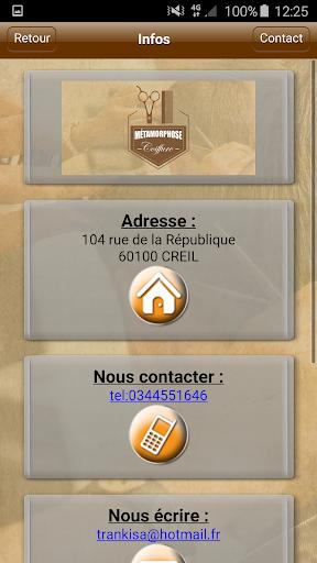 玩免費生活APP|下載Métamorphose Coiffure Creil app不用錢|硬是要APP