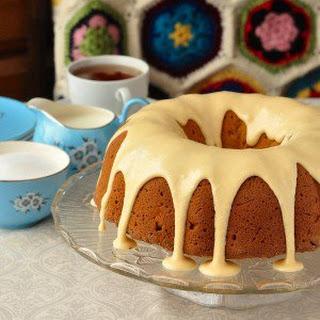 Applesauce Cake with Maple Glaze