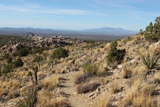 Photo: Follow the trail down