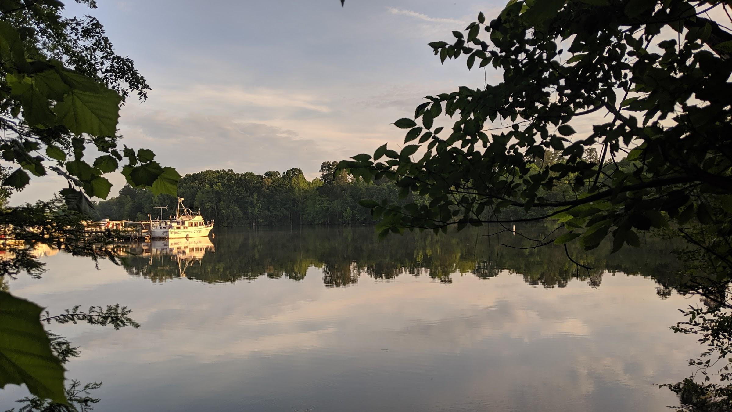 Eutaw Springs lake