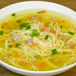 Delicious Chicken Noodle Soup In A Crockpot