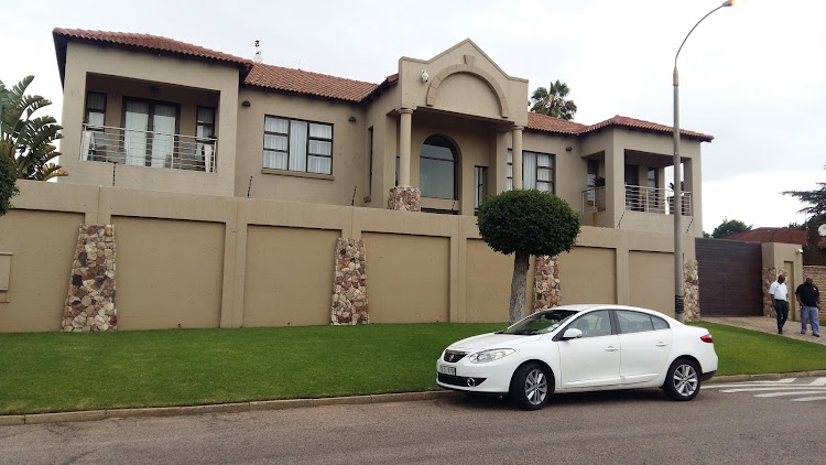 The Boksburg home of Hildegard Steenkamp, who is accused of defrauding her former employer, the multinational medical equipment supplier Medtronic based in Midrand, of R460-million.