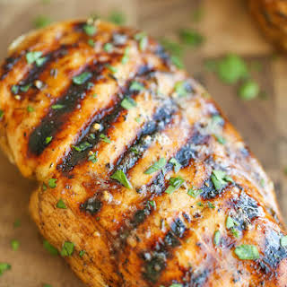 Easy Grilled Chicken.