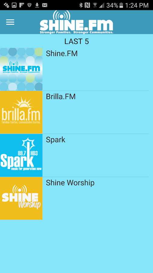 Shine.FM- screenshot