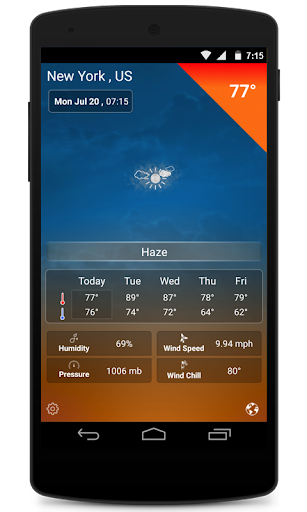 Weather : Live Weather Radar