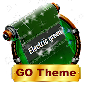Electric green SMS Layout