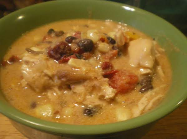 Creamy King Ranch Chicken Stoup Recipe