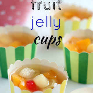 Fruit Jelly Cups.