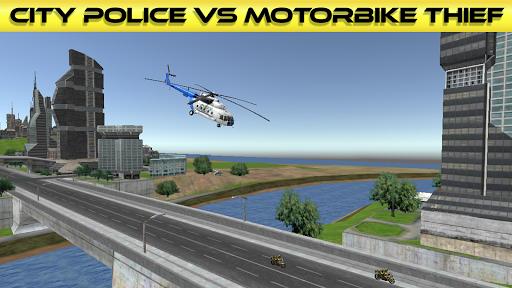 市警察対バイク泥棒|玩賽車遊戲App免費|玩APPs
