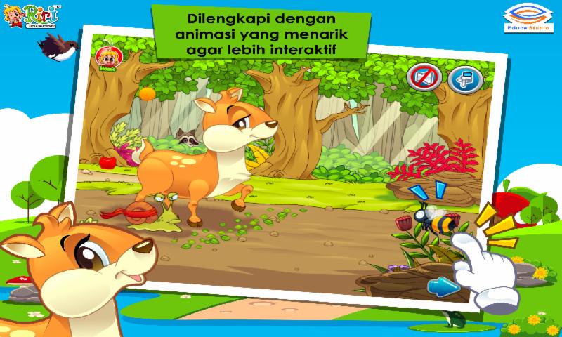 Gambar Cerita Anak Kancil Siput Adu Pintar Android Apps Google Play