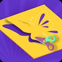 Paper Cut 3D icon