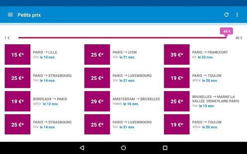 Voyages-SNCF Screenshot 20