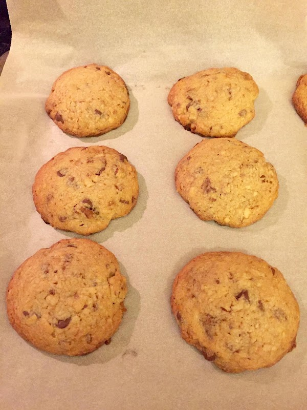 Drop on cookie sheet 2 inches apart. Bake about 10-12 minutes, or until edges...